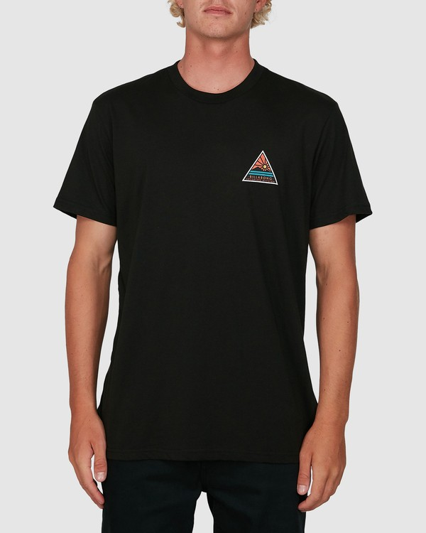 0 Adiv Trail Short Sleeve Tee Black 9504031 Billabong