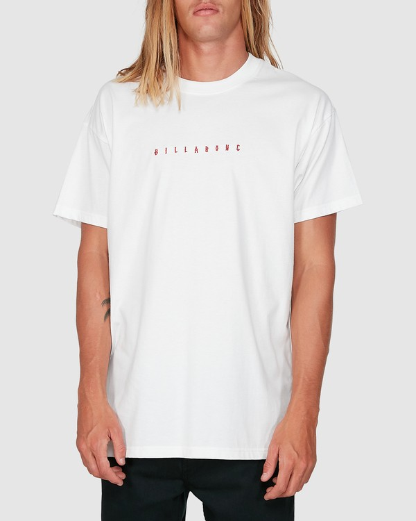 0 Smitdog Short Sleeve Tee White 9504032 Billabong