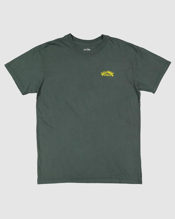 0 No Frills Short Sleeve Tee Green 9504104 Billabong