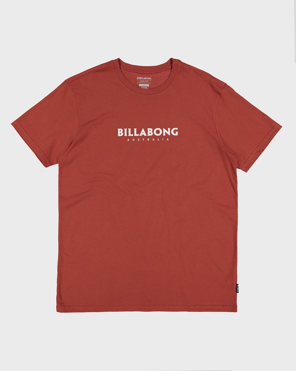 0 Smithed Short Sleeve Tee Brown 9504110 Billabong