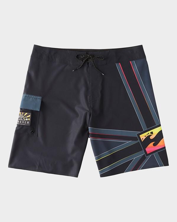 0 Shogun Andy Irons Pro Boardshorts Black 9504433 Billabong