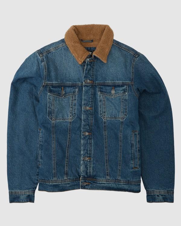 0 Barlow Trucker Jacket Blue 9504904 Billabong