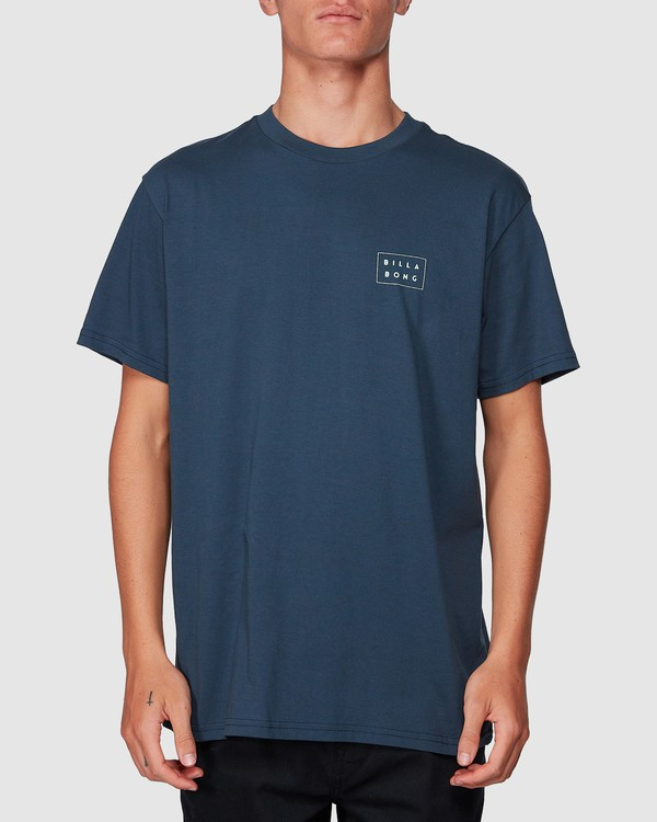 0 Die Cut Tee Blue 9507003 Billabong