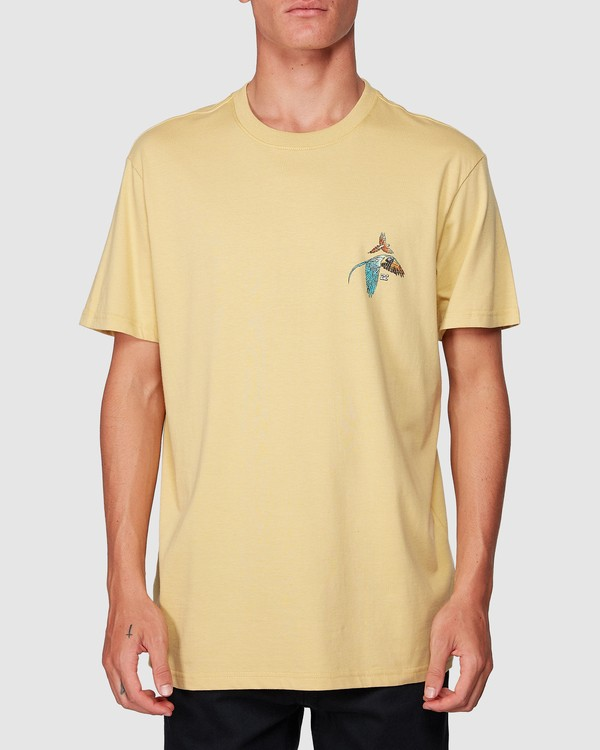 0 Parrot Bay Tee Yellow 9507027 Billabong