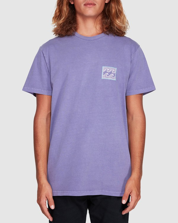 0 Full Froth Tee Purple 9507040 Billabong
