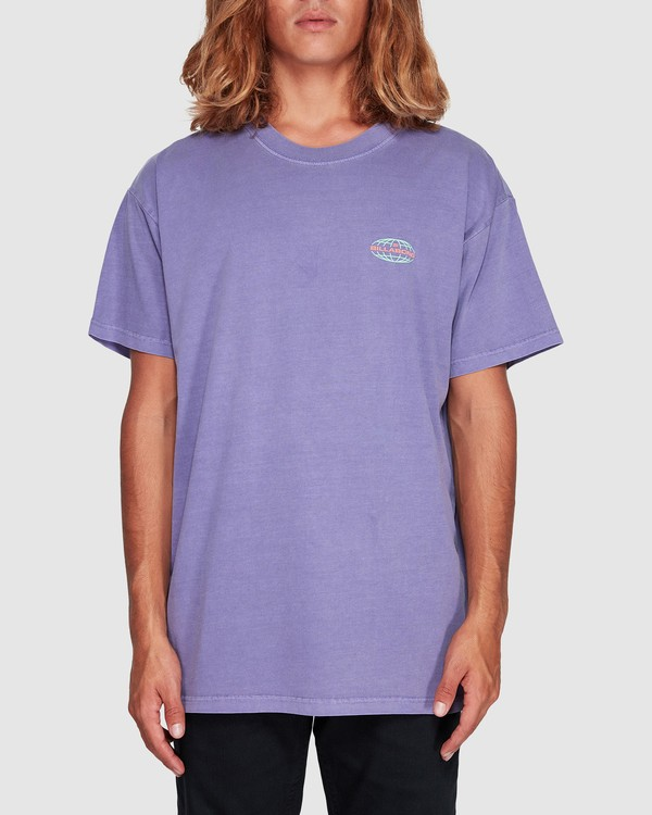 0 Latitude Tee Purple 9507043 Billabong