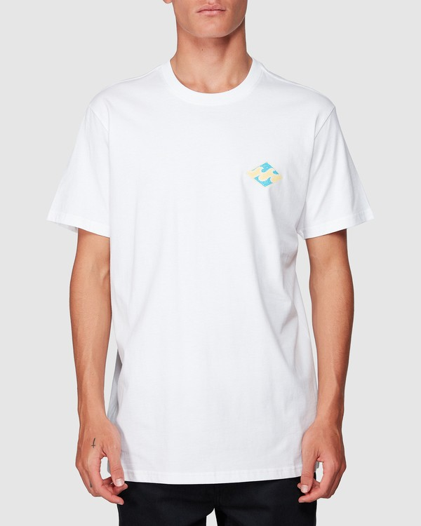 0 God Of War Tee White 9507047 Billabong