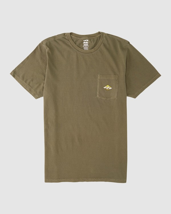 0 Chill Short Sleeve Tee Green 9507051X Billabong