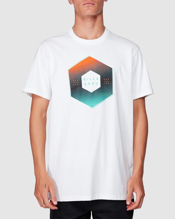 0 X-Cess Tee White 9507053 Billabong