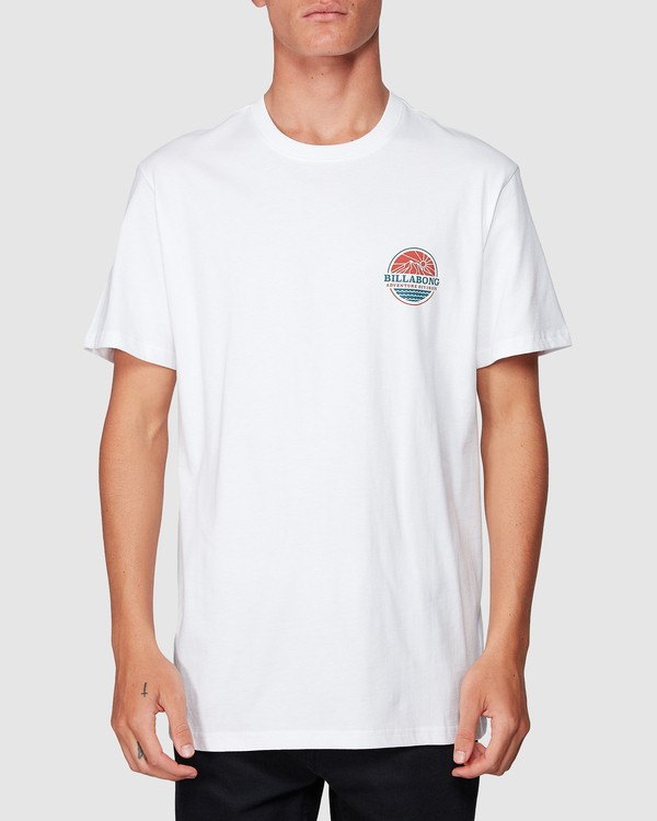0 Adiv Breaker Tee White 9507056 Billabong