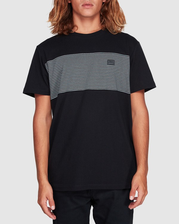 0 Banded Die Cut Tee Black 9507059 Billabong