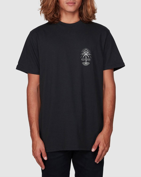 0 Treesnake Tee Black 9507060 Billabong