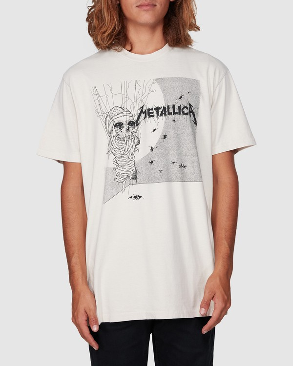 0 Metallica One Short Sleeve Tee White 9507083 Billabong