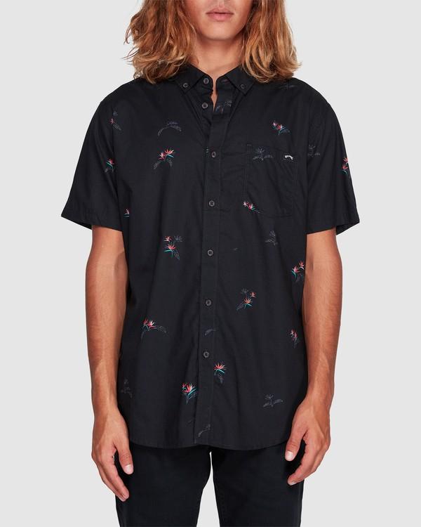 0 Sundays Mini Short Sleeve Shirt Black 9507203 Billabong