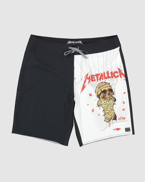 0 Metallica Landmine Boardshorts Black 9507442 Billabong