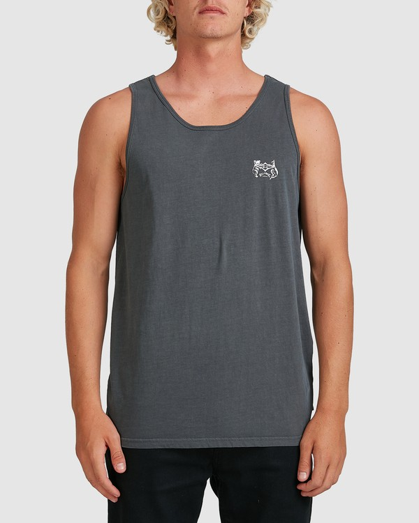 0 Down Under Tank Blue 9507535M Billabong