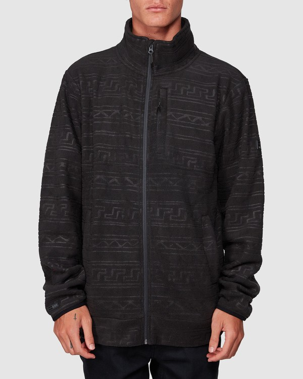 0 Boundary Pressed Zip Thru Black 9507605 Billabong