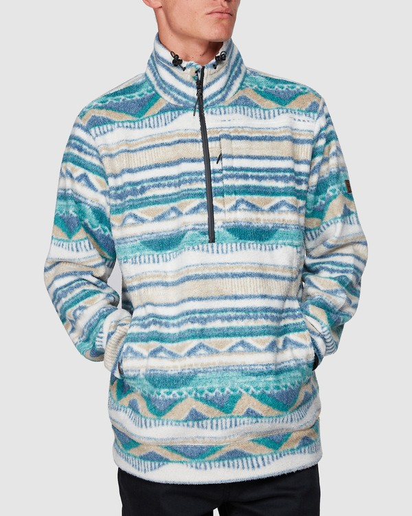 0 Boundary Mock Half Zip Beige 9507609 Billabong