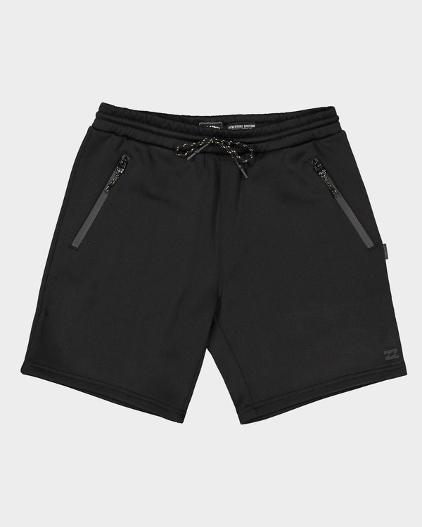 0 Adiv Tech Fleece Shorts Black 9507654 Billabong