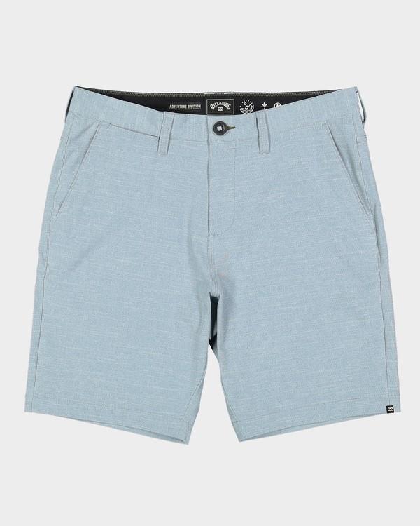 0 Surftrek Oxford Shorts Blue 9507701 Billabong