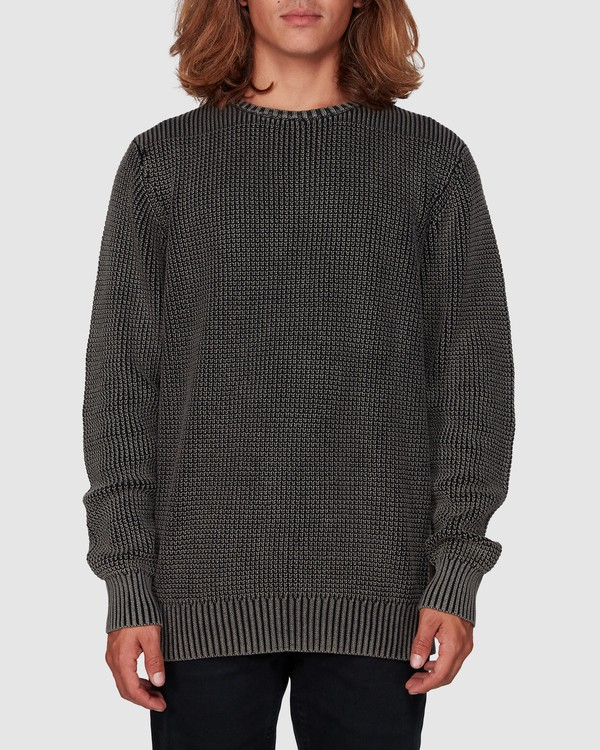 0 East Crew Knit Black 9507805 Billabong