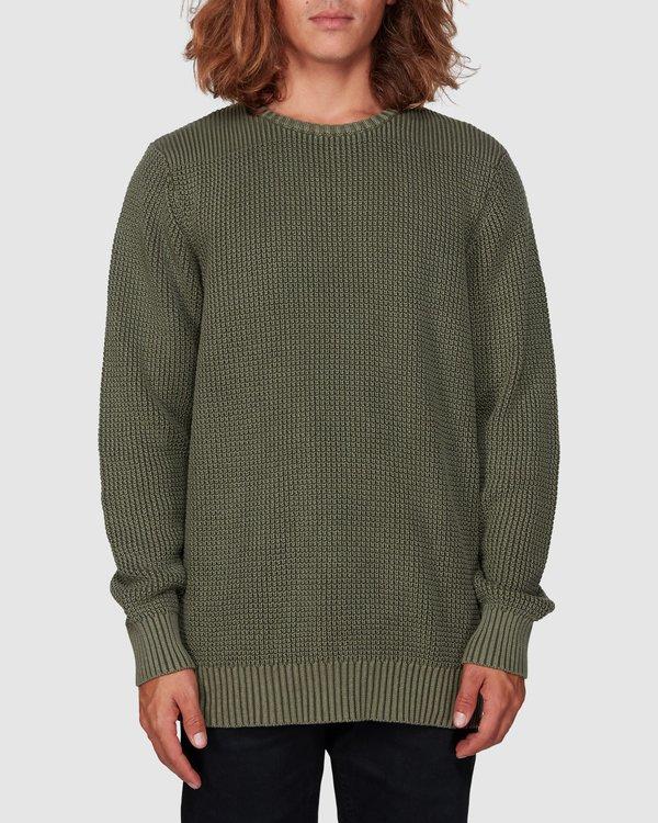 0 East Crew Sweater Green 9507805 Billabong