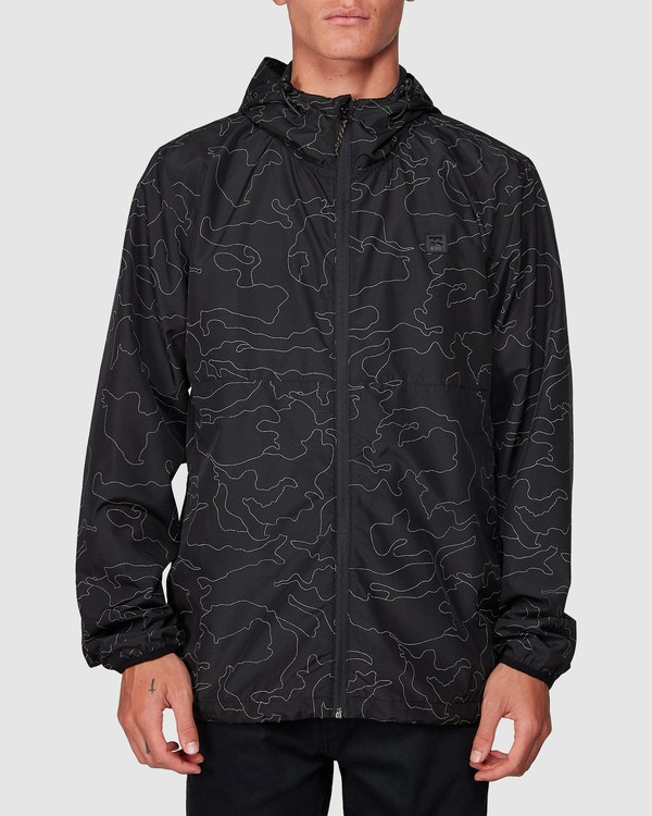 0 Transport Print Jacket Camo 9507914 Billabong