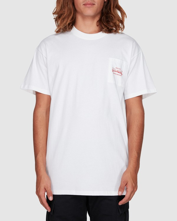 0 Surf Goods Short Sleeve Tee White 9508006 Billabong