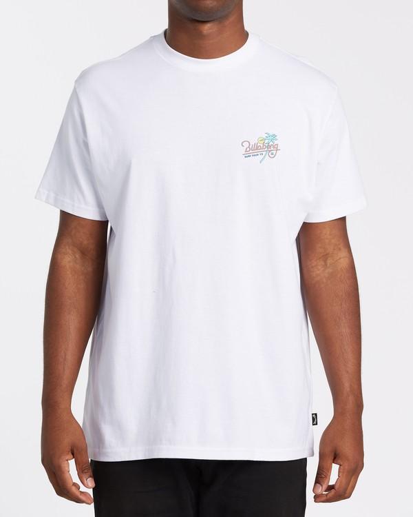 0 Surf Tour Short Sleeve Tee White 9508020 Billabong