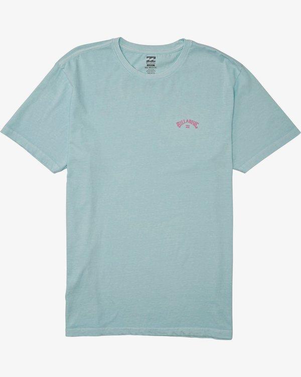 0 Arch Wave Short Sleeve Tee Blue 9508031 Billabong