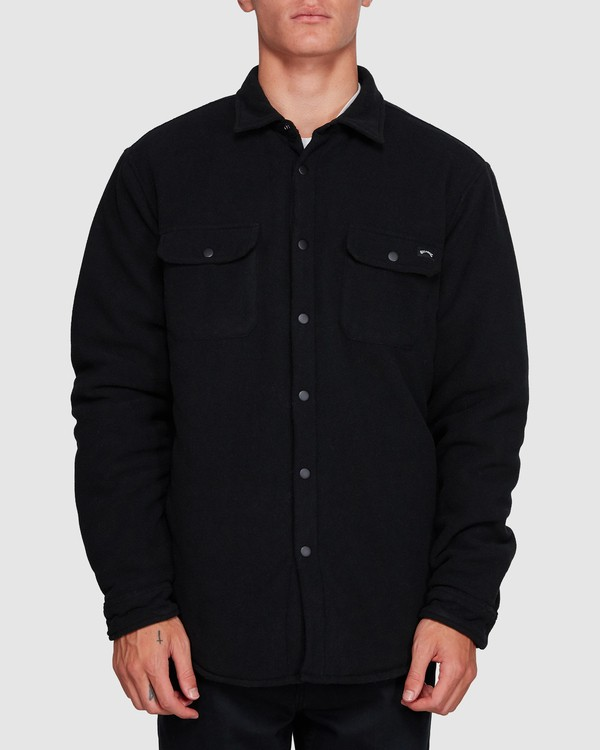 0 Nevermind Long Sleeve Flannel Shirt Black 9508203 Billabong
