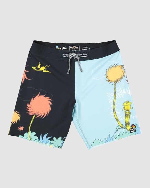 0 Dr. Seuss Lorax Sundays Pro Boardshorts Blue 9508430 Billabong