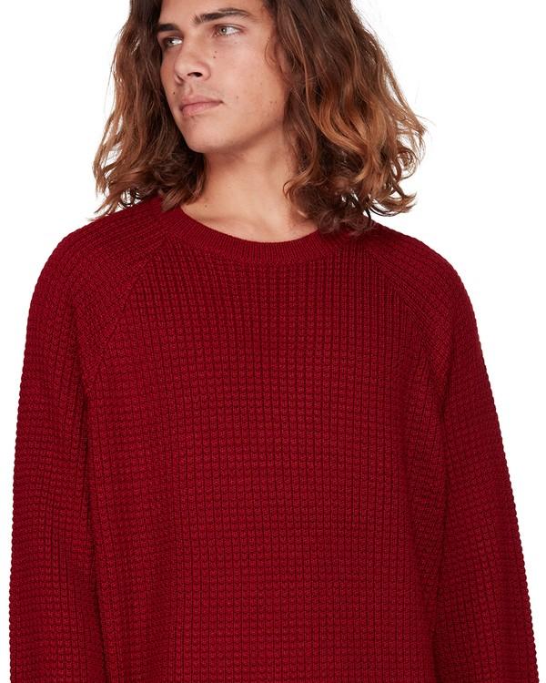 0 New Brighton Crew Sweater Red 9508800 Billabong