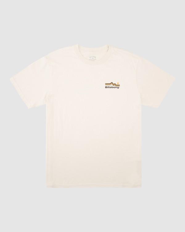 0 A/Div Denver Short Sleeve T-Shirt Blue 9513002 Billabong