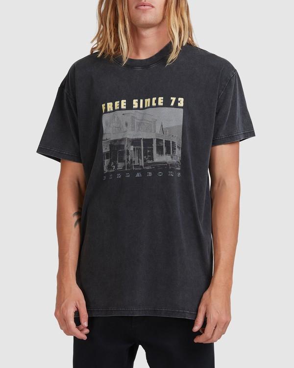 0 Main Street Short Sleeve Tee Black 9513026 Billabong