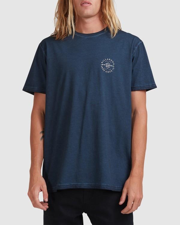 0 Big Donny Short Sleeve Tee Blue 9513031 Billabong