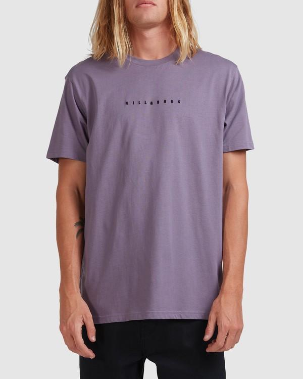 0 Smitty Short Sleeve Tee Purple 9513041 Billabong