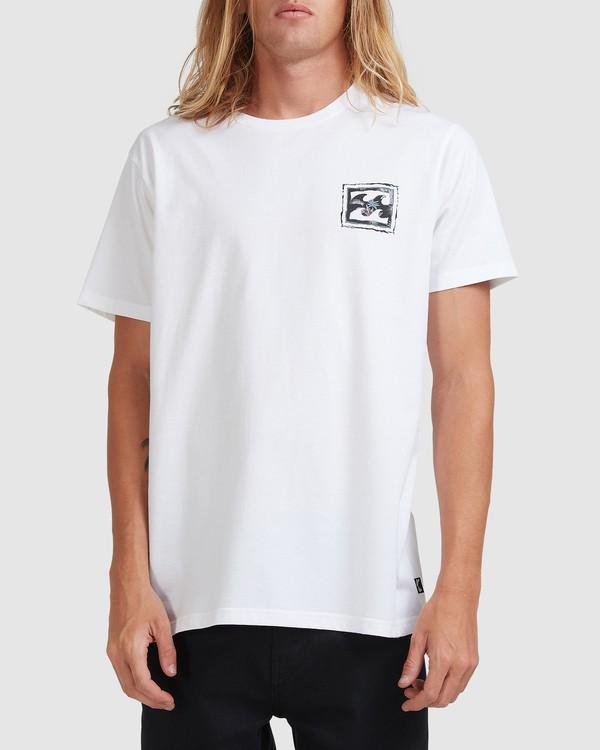 0 Crayon Wave Short Sleeve Tee White 9513042 Billabong