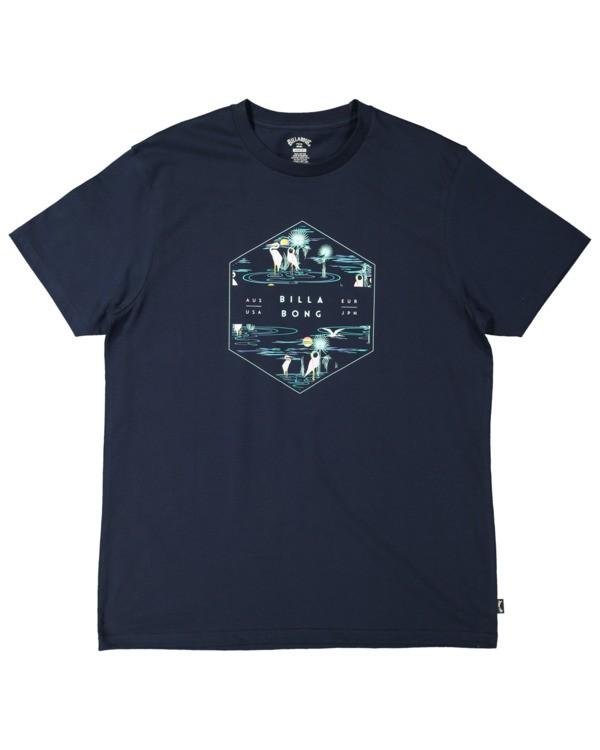 0 Access Short Sleeve Tee Blue 9513048 Billabong