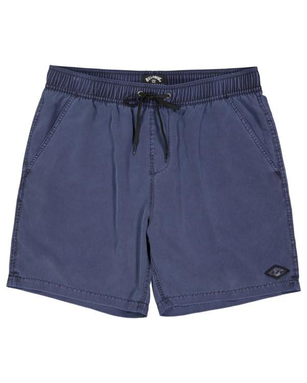 0 All Day Overdye Layback Boardshorts Blue 9513452 Billabong
