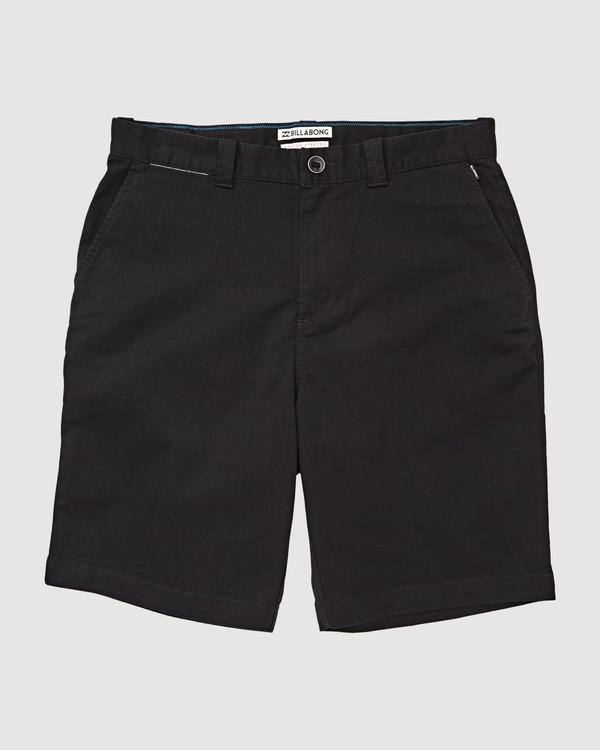 0 Carter Stretch Shorts Black 9513701 Billabong