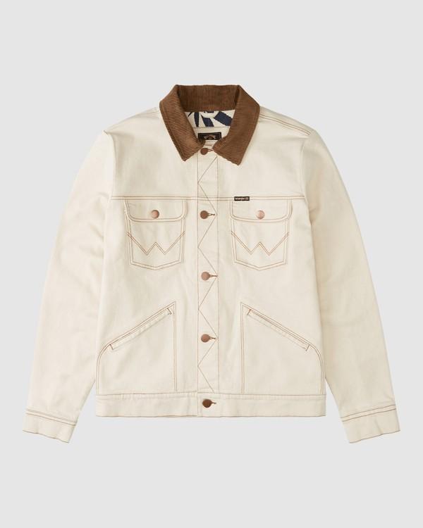 0 Wrangler Team Ranch Jacket Beige 9513901 Billabong