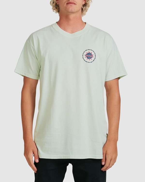 0 Holey Moley Short Sleeve Tee Green 9517003 Billabong