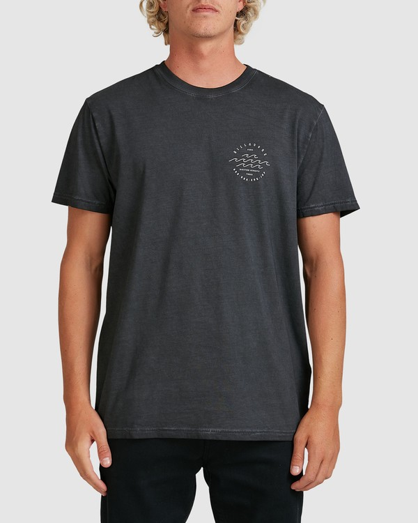 0 Big Wave Dave T-Shirt Black 9517012 Billabong