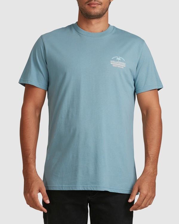 0 Combo Supply Short Sleeve Tee Blue 9517021 Billabong