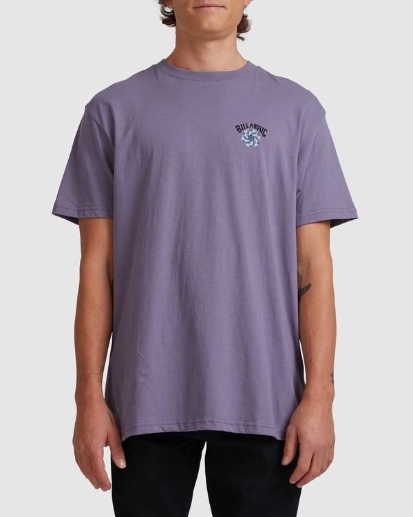 0 Night Mind Short Sleeve Tee Purple 9517039 Billabong