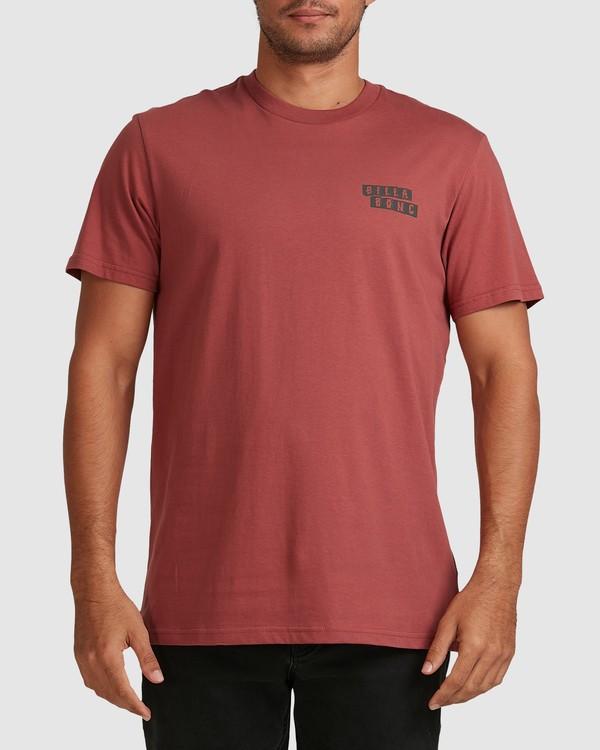 0 Step Cut Short Sleeve Tee Red 9517148 Billabong