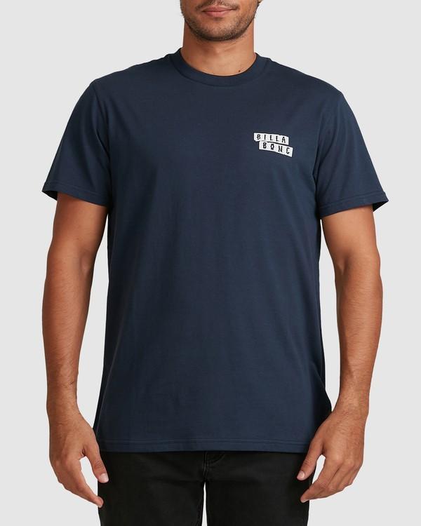 0 Step Cut Short Sleeve Tee Blue 9517148 Billabong
