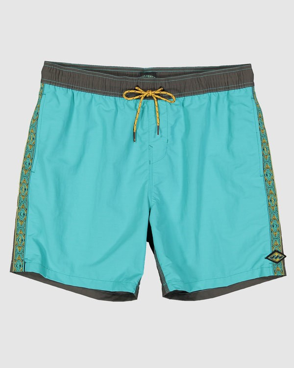 0 Currents Layback Boardshorts Green 9517428 Billabong