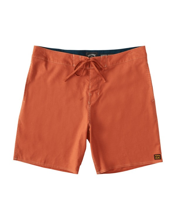 0 Surftrek Hemp Lotide Boardshorts Orange 9517430 Billabong